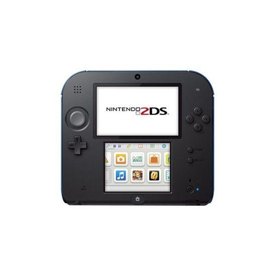 Nintendo 2DS - New Super Mario Bros. 2 Special Edition - håndholdt spillekontrolenhed - sort, blå
