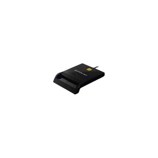 IOGEAR USB Smart Card Reader SMART-kortlæser - USB