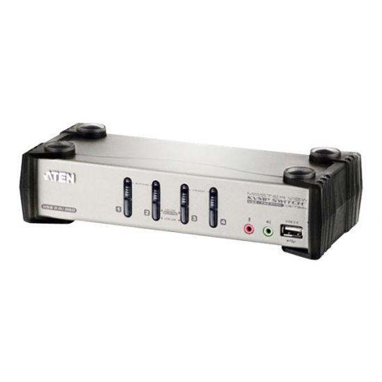 ATEN CS1734B - KVM / audio / USB switch - 4 porte