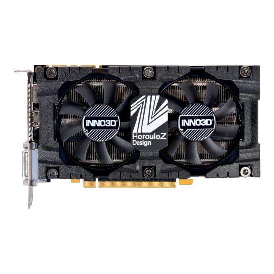 Inno3D GeForce GTX 1070 Ti X2 V2 &#45 NVIDIA GTX1070Ti &#45 8GB GDDR5 - PCI Express 3.0 x16