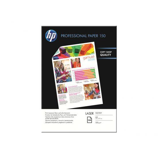 HP Professional Glossy Paper - fotopapir - 150 ark - A4 - 150 g/m²