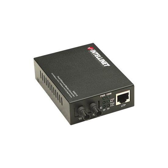 Intellinet - medieomsætter - 10Mb LAN, 100Mb LAN