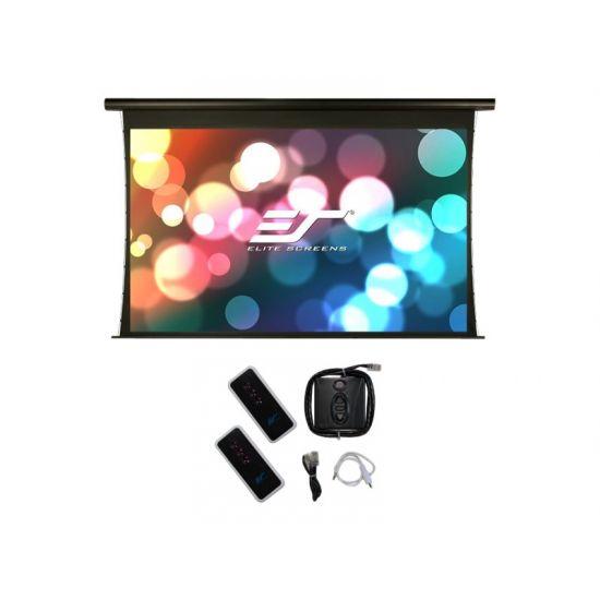 Elite Screens Saker Tab-Tension Series SKT150UHW2-E6 - projektionsskærm - 150 tommer (381 cm)