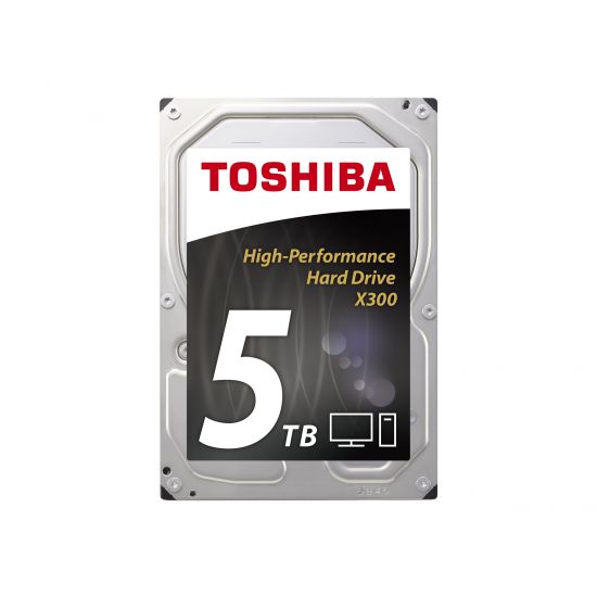Toshiba X300 3.5´´ SATA-600 5TB - 7200rpm 128MB