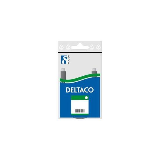 Deltaco Netværkskabel (UTP) 1 m Hvid