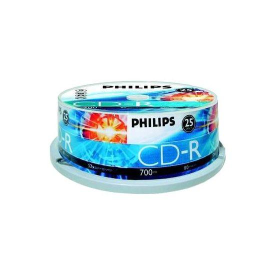 Philips - CD-R x 25 - 700 MB - lagringsmedie