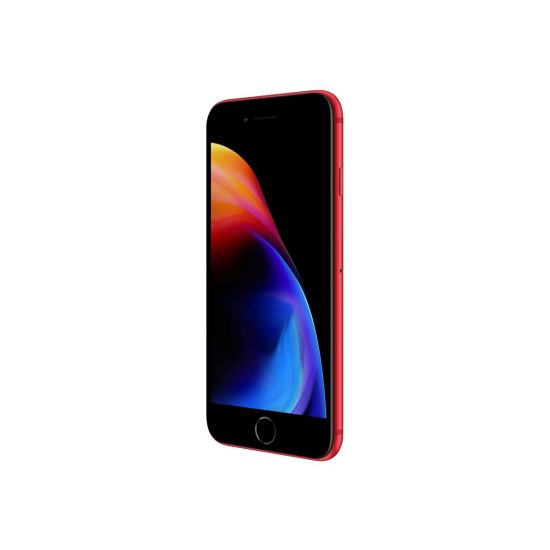 Apple iPhone 8 - (PRODUCT) RED Special Edition - mat rød - 4G LTE, LTE Advanced - 64 GB - GSM - smartphone