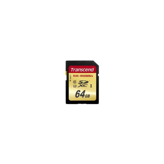 Transcend Ultimate - flashhukommelseskort - 64 GB - SDXC UHS-I