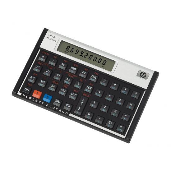 HP 12c Platinum - finansiel regnemaskine