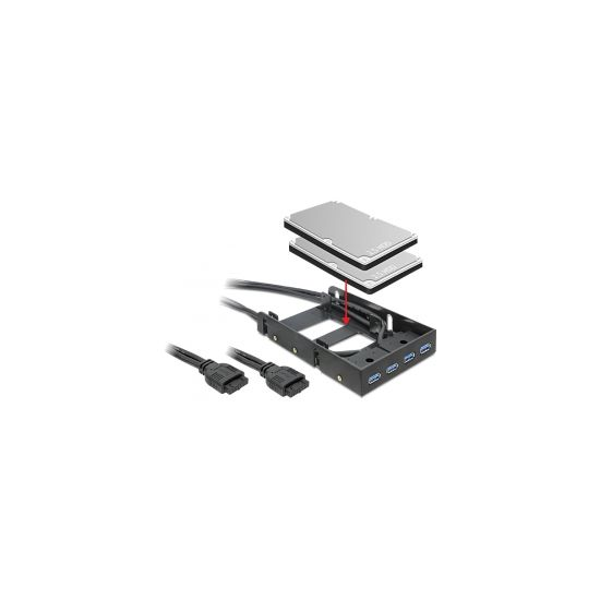 Delock FrontPanel 4x USB3.0