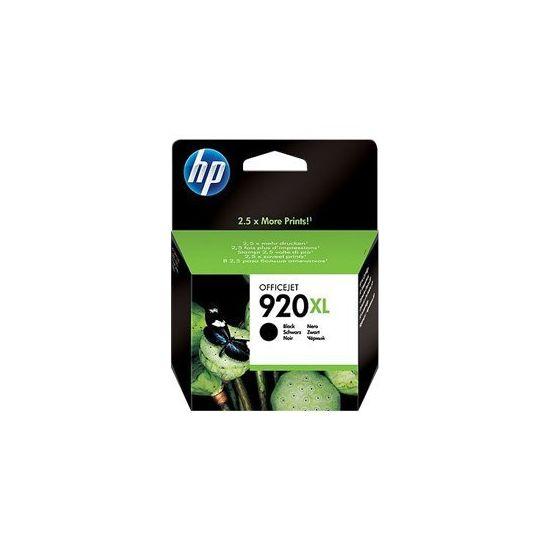 HP 920XL - Højtydende - sort - original - blækpatron