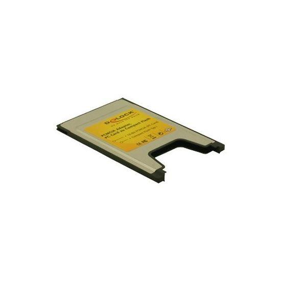 DeLOCK PCMCIA Card Reader for Compact Flash cards - kortlæser - PC-kort