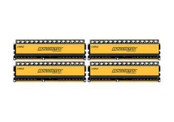 Ballistix Tactical &#45 16GB: 4x4GB &#45 DDR3 &#45 1600MHz &#45 DIMM 240-pin