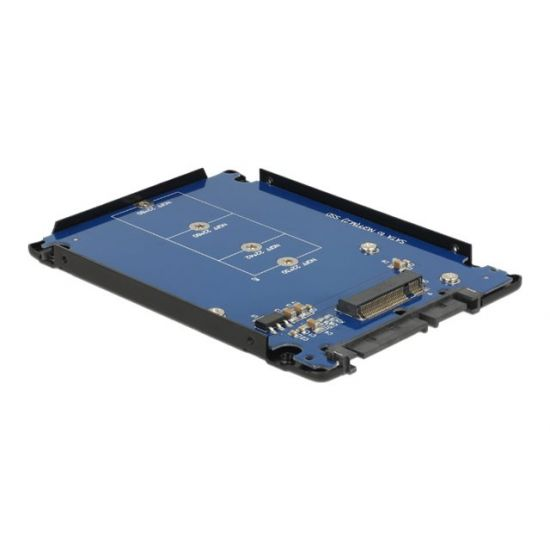 Delock 2.5'' Converter SATA 22 Pin > M.2 NGFF with Enclosure