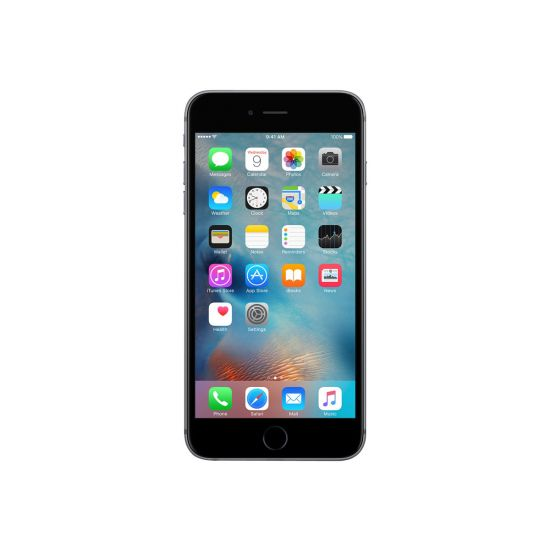 Apple iPhone 6s - space grey - 4G LTE, LTE Advanced - 128 GB - TD-SCDMA / UMTS / GSM - smartphone