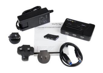 StarTech.com 6 Port USB 3.0 / USB 2.0 Combo Hub with 2A Charging Port