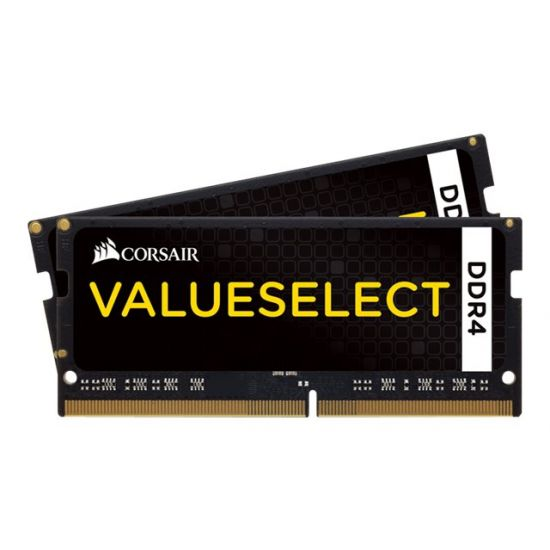 Corsair Value Select &#45 32GB: 2x16GB &#45 DDR4 &#45 2133MHz &#45 SO DIMM 260-PIN - CL15
