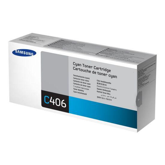 Samsung CLT-C406S - cyan - original - tonerpatron