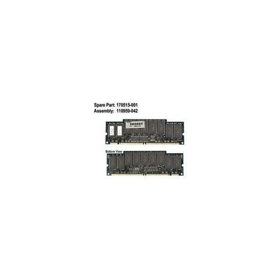 HPE &#45 512MB &#45 SDRAM &#45 100MHz &#45 DIMM 168-PIN - ECC - CL2
