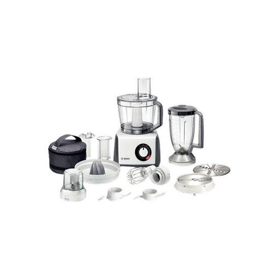 Bosch MCM64060 - køkkenmaskine - 1200 W - hvid/grå