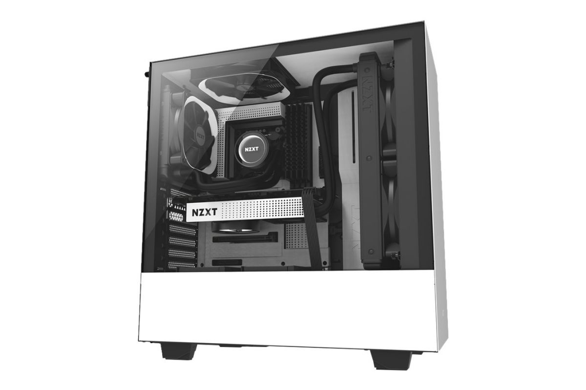 NZXT H series H500 White