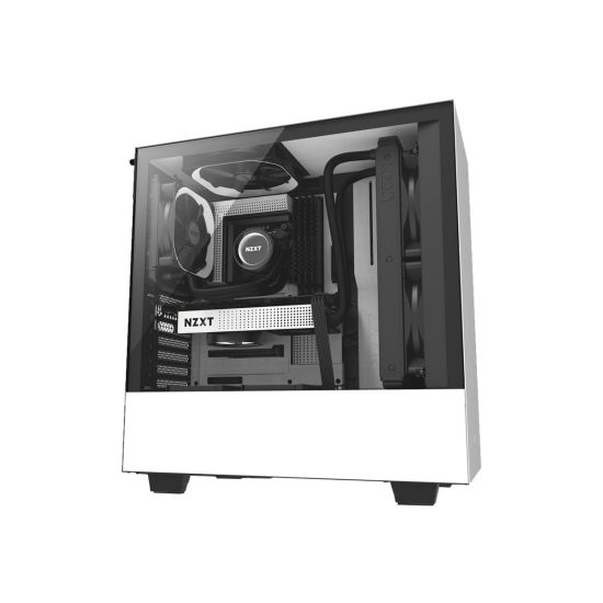 NZXT H series H500 White - miditower - ATX