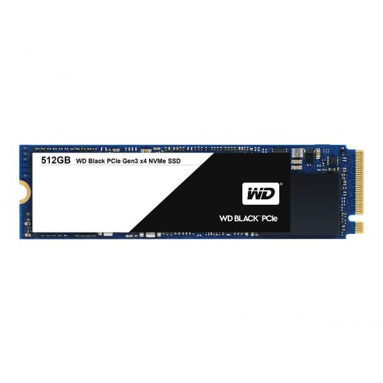WD Black PCIe WDS512G1X0C &#45 512GB - PCI Express 3.0 x4 (NVMe) - M.2 Card