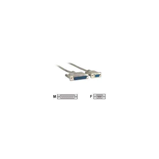 MicroConnect seriel-/ parallelkabel - 3 m