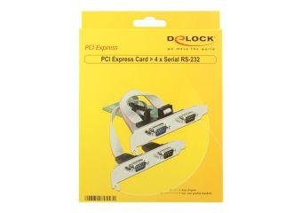 DeLock PCI Express Card > 4 x Serial RS-232