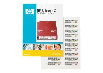 HPE Ultrium 2 Bar Code Label Pack