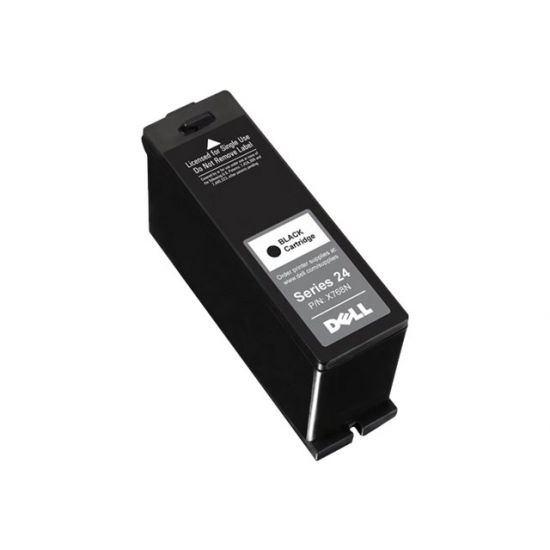 Dell Series 24 Single Use Black Cartridge - høj kapacitet - sort - original - blækpatron