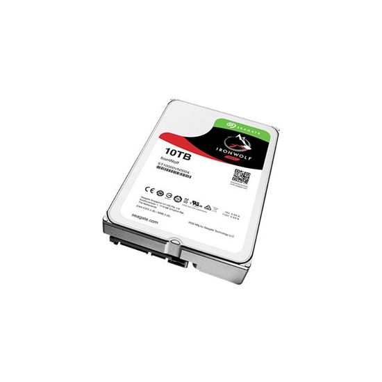 Seagate IronWolf ST10000VN0004 3.5´´ SATA-600 10TB 7200rpm 256MB Cache