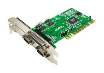 LogiLink PCI Interface Card Parallel 1x + Serial 2x