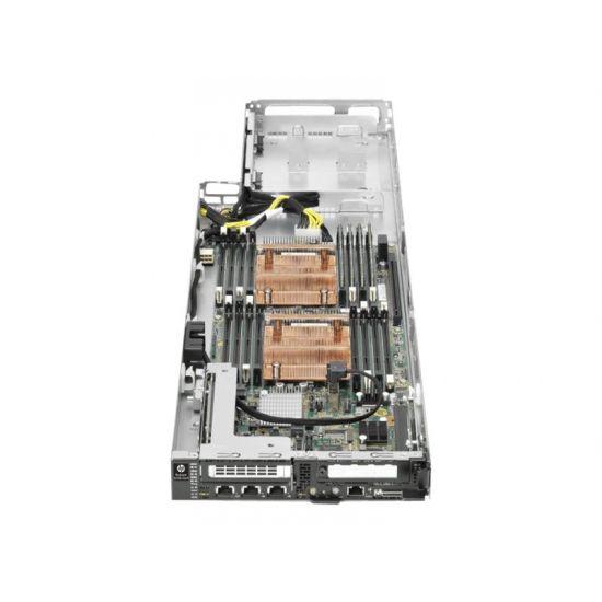 HPE ProLiant SL230s Gen8 1U Left Half Width Tray - indstikningsmodul - uden CPU - 0 MB - 0 GB