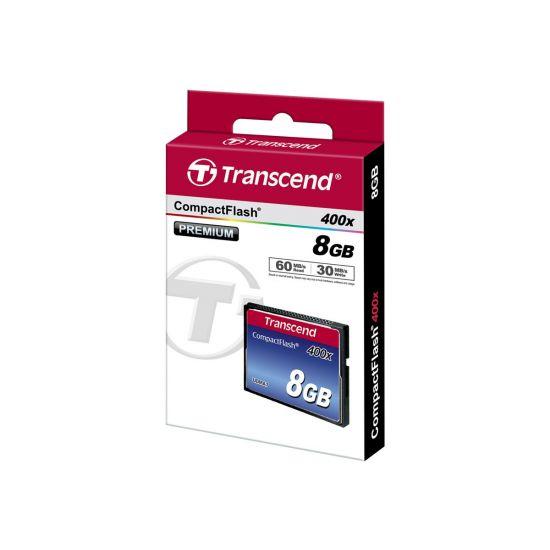 Transcend - flashhukommelseskort - 8 GB - CompactFlash