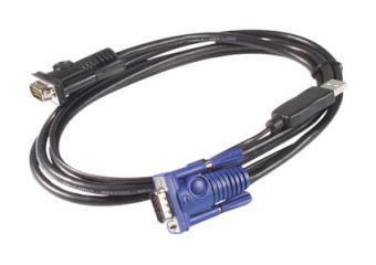 APC kabel til tastatur / video / mus (KVM)