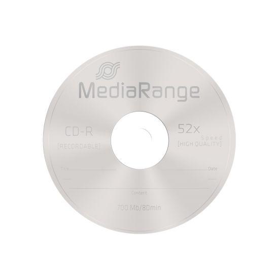 MediaRange - CD-R x 100 - 700 MB - lagringsmedie
