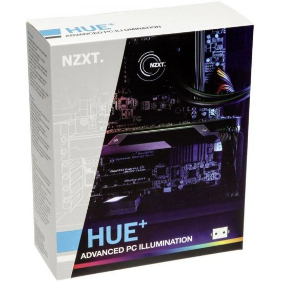NZXT HUE+ LED kit til kabinetter (4x30cm LED strip)
