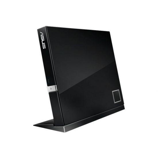 ASUS SBC-06D2X-U - DVD±RW (±R DL) / DVD-RAM / BD-ROM drev - USB 2.0 - ekstern