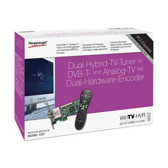 Hauppauge WinTV HVR-2200 MC-Kit - PCI Express x1