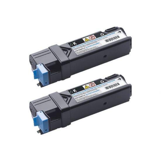 Dell - 2 pakker - høj kapacitet - sort - original - tonerpatron