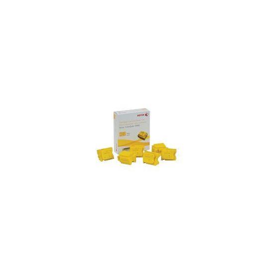 Xerox - 6 - gul - fast blæk