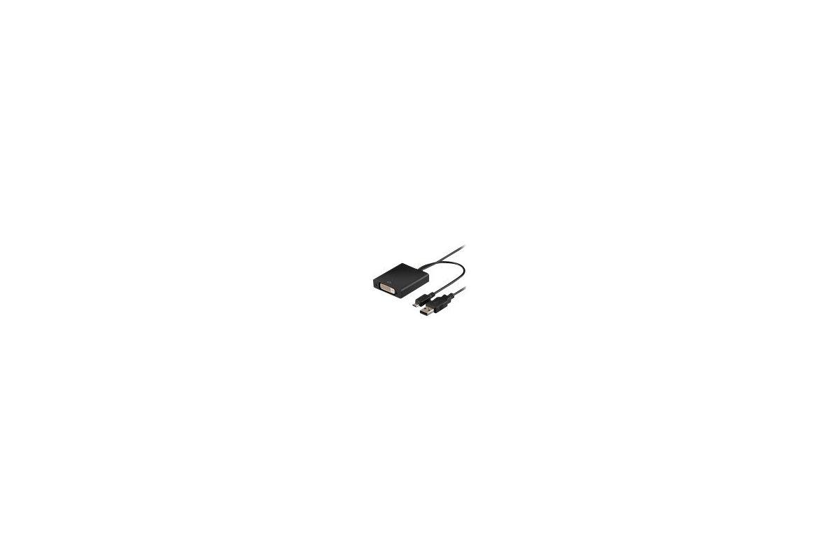 MicroConnect Micro USB To DVI-D