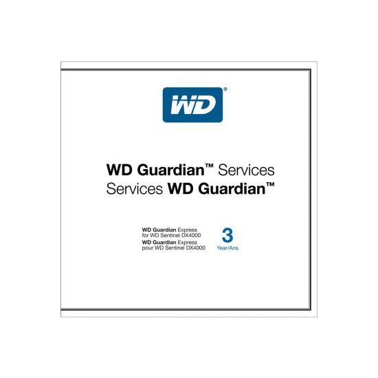 WD Guardian Express WDBGJJ0000NNC - support opgradering - 3 år - on-site