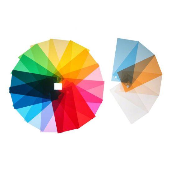 Walimex lysfiltersæt - farvekorrektion, diffusion, farve