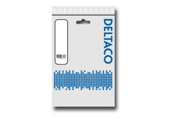 DELTACO USB A til  micro USB B 2 m Sort