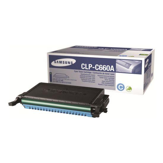 Samsung CLP-C660A - cyan - original - tonerpatron
