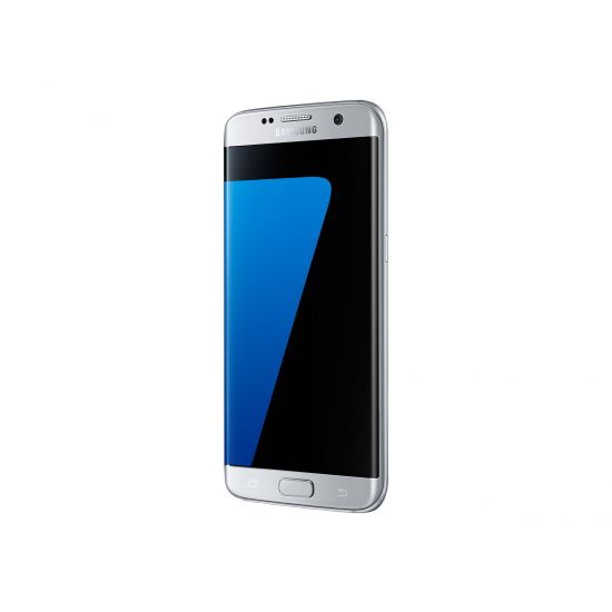 Samsung Galaxy S7 edge - SM-G935F - sølv - 4G HSPA+ - 32 GB - GSM - smartphone