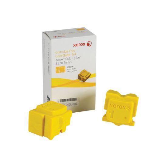 Xerox - 2 - gul - fast blæk