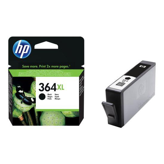 HP 364XL - Højtydende - sort - original - blækpatron